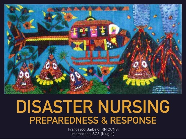 From our readers. . . Is disaster relief nursing for you ...