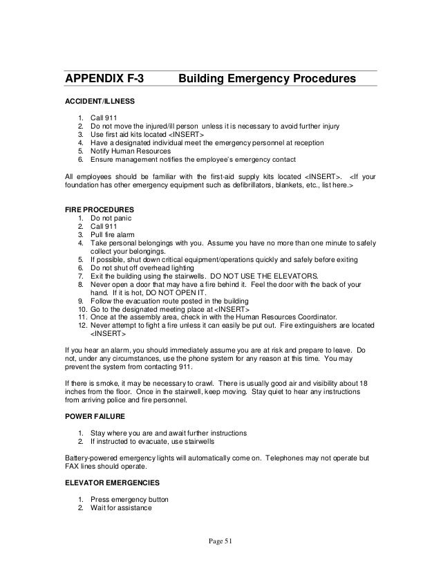 cypop 5 accident illnesses emergency policy procedure Community health center emergency management plan 52 community health center emergency management plan i included are policies, procedures.