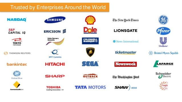 Trusted by Enterprises Around the World