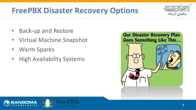 FreePBX Disaster Recovery
