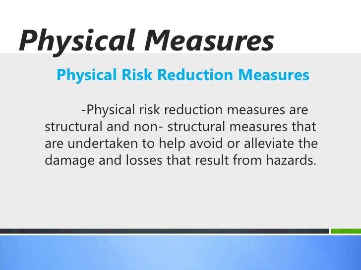 Risk reduction insurance