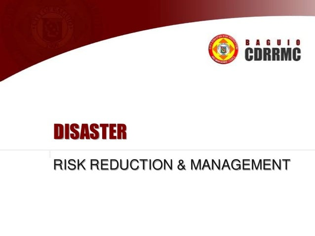DISASTER RISK REDUCTION & MANAGEMENT  Supplemented by Ryann U. Castro