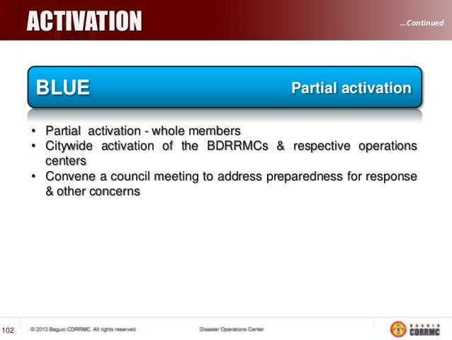 SITUATIONAL ISSUES  …Continued 108  COORDINATION • • • • • •  WHAT? WHERE? WHEN? WHO? HOW? Others  …Continued