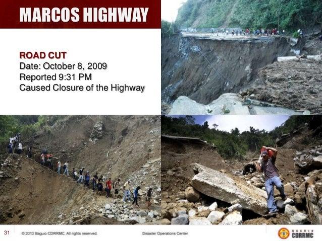 KENNON ROAD Fallen rocks and Mudslides  33