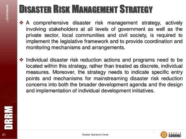 disaster risk management Total disaster risk management - good practices - chapter 1 asian disaster reduction center 5 12 definition of disaster risk.