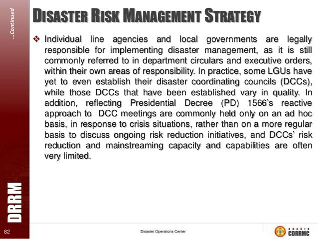 disaster risk reduction and management fund Written by bob hansford, sarah dellor and shona macpherson 1 tearfund disaster management team good practice guidelines disaster risk reduction.