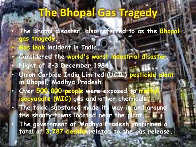 the bhopal tragedy 30 years ago from today bhopal gas tragedy hasn't helped it's victims to recover here is a list of 10 shocking facts you didn't know about bhopal disaster.