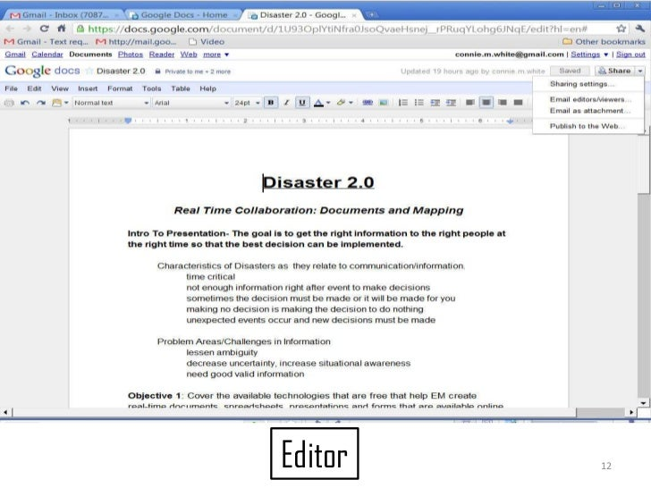 12<br />Editor<br />