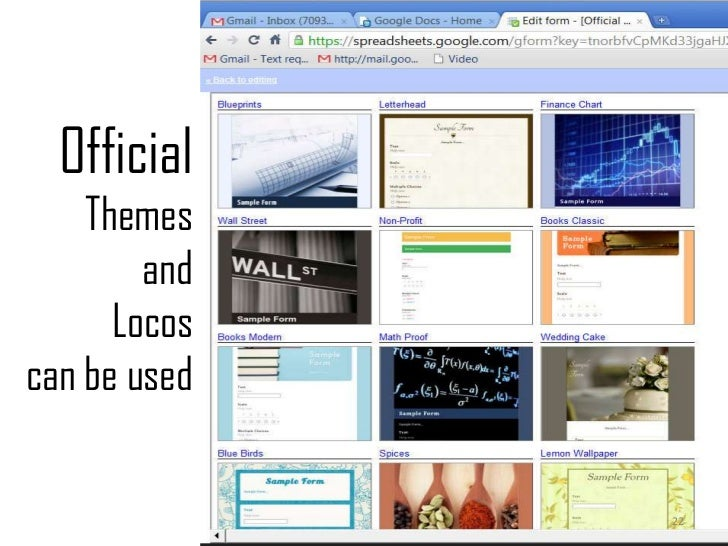 Official Themes and Locos can be used<br />22<br />