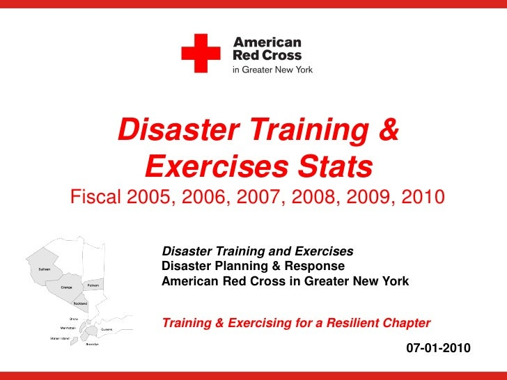 Disaster Training &        Exercises Stats Fiscal 2005, 2006, 2007, 2008, 2009, 2010           Disaster Training and Exerc...