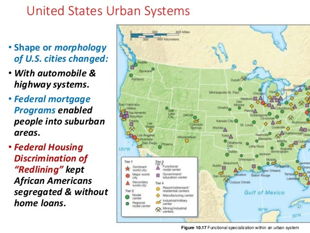 Disc Urban Issues Ch Urbanization - Urbanization map us