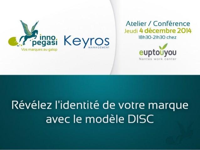 Révélez l'identité de votre marque avec le modèle DISC