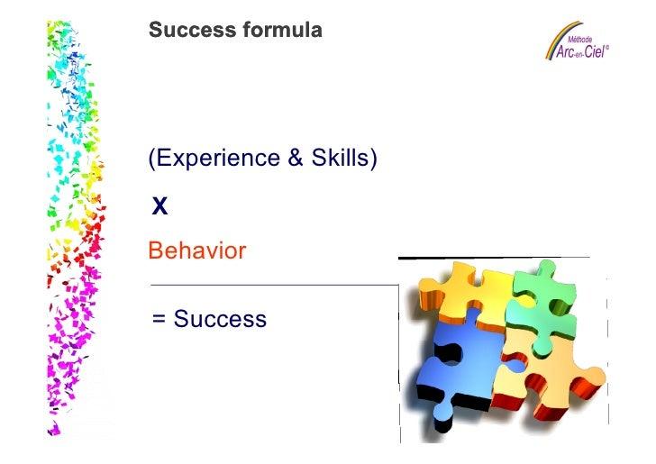 Success formula                                 Slide 5                           (Experience & Skills)                   ...