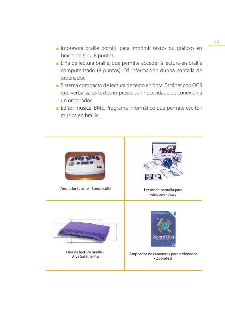 30            Reprodutor portátil de libros electrónicos.                                                      Calculadora...