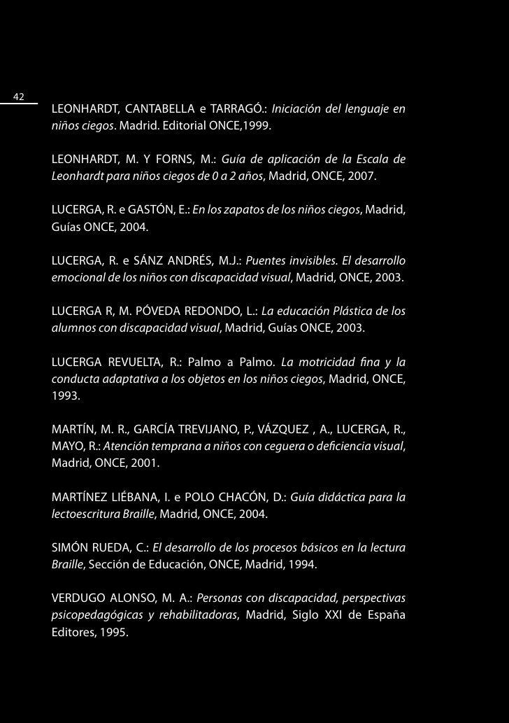REVISTA INTEGRACIÓN, Madrid, Edición ONCE.                    43   Ligazóns de interese na internet  Consellería de Educac...