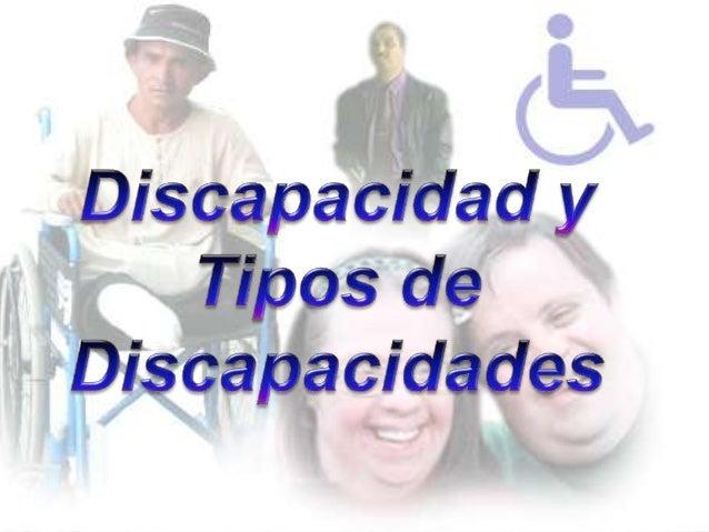 """¿Qué es Discapacidad?""""Condición que resulta de una interacción ente las deficiencias físicas, sensoriales y mentales y las..."""