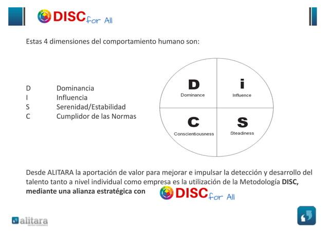 DISC for All está desarrollado por partners estratégicos que aportan una experiencia superior a 15 años en la realización ...