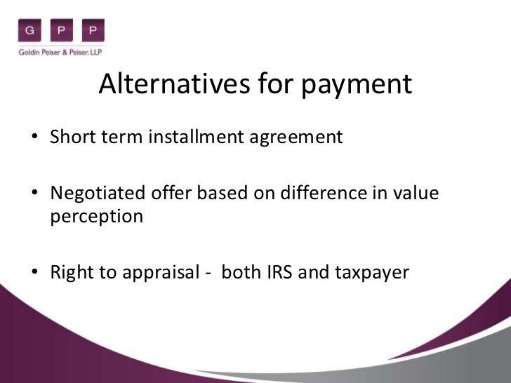 Federal Tax Lien Federal Tax Lien Installment Agreement