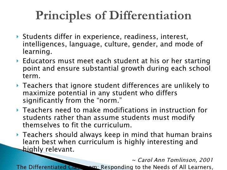 different methods of instruction in the classroom