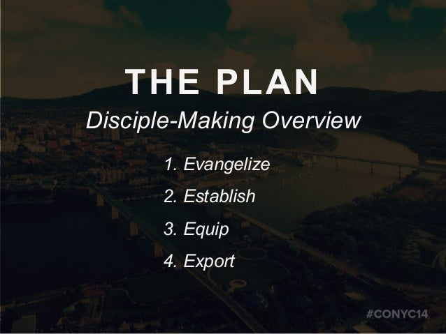 Create a Disciple-Making Plan for 2014