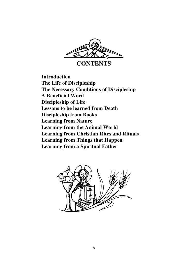 Discipleship by h.h pope shenoda 3 the coptic orthodox pope
