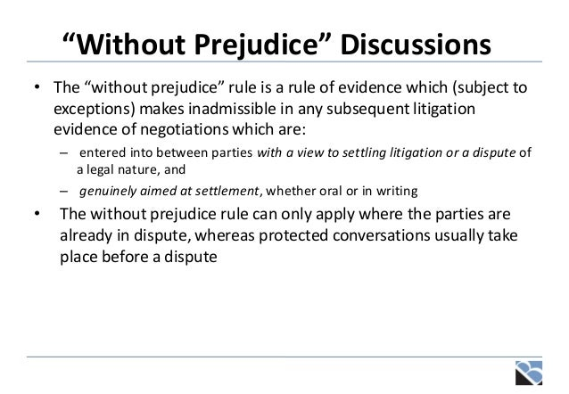 Disciplinaries grievances and settlement discussions without prejudice discussions spiritdancerdesigns Image collections