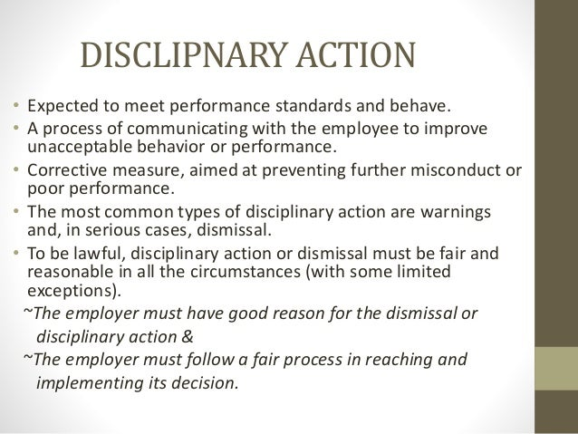 discipline process Home compliance-discipline disciplinary process disciplinary process when a request for investigation is received in the board office, the information is reviewed to determine whether jurisdiction exists and whether the alleged facts violate the law or regulations that govern the licensee's or registrant's practice.