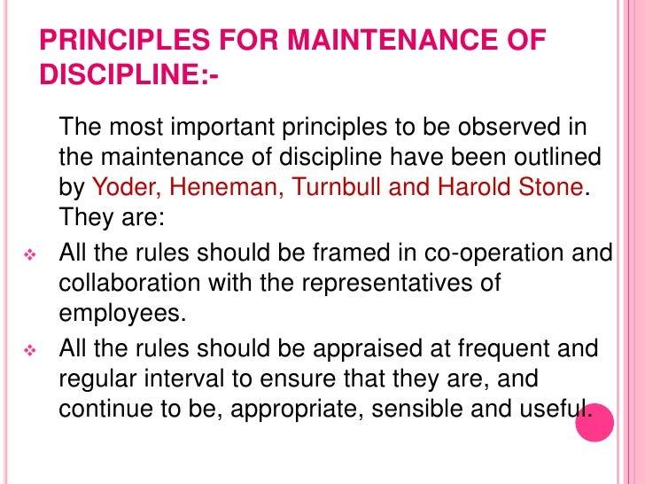 discipline <br > 16 group discipline