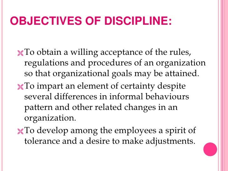 academic discipline meaning