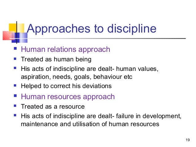 A Values Based Approach To Discipline >> Discipline In Nursing Education