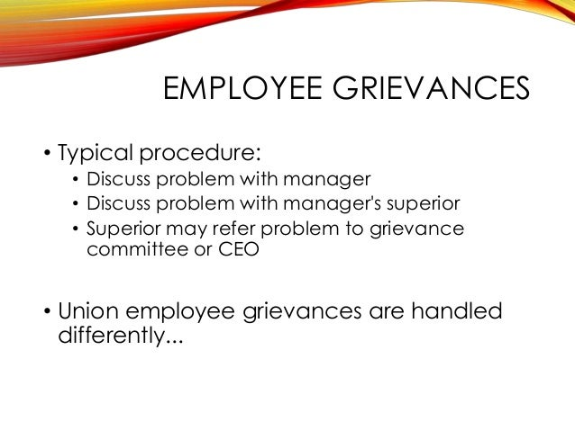Employee Discipline and Grievance Handling