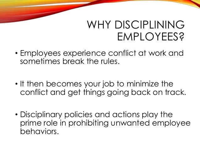 discipline grievance 901 disclaimer it is neither possible nor desirable for the college to list every possible act or failure to act that may result in discipline for an employee.