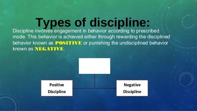 my three disciplines of order