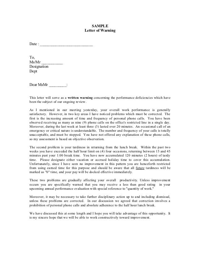 Want to Draft a Warning Letter? Get Free HR Warning Templates Now!