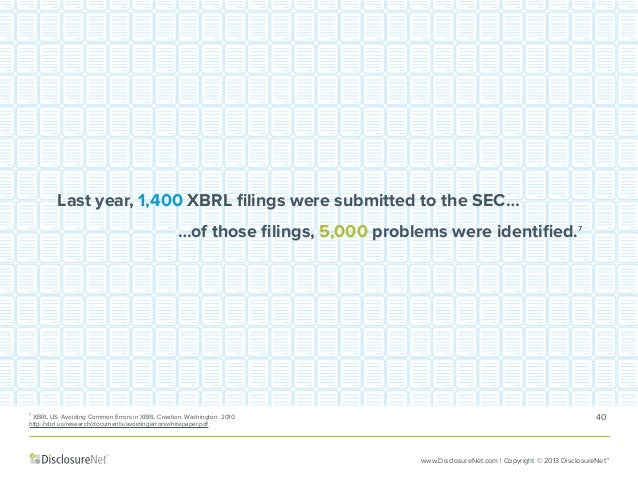 xbrl error study Wwwpwccom how companies can minimize reporting risks and realize benefits xbrl submission and processes september 2014 at a glance with the chicken-and-egg problem of xbrl out of.