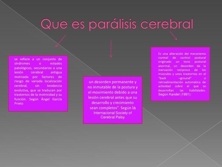 Paralisis Cerebral Slide 2