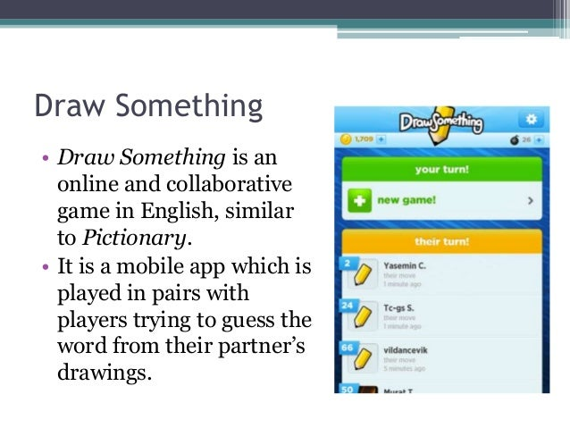 Disco 2013 Selay Arkun Evaluation Of Draw Something App In Educati
