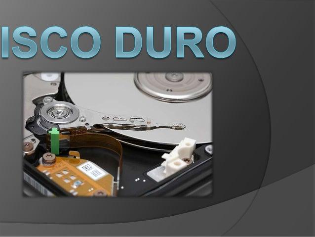  En informática, un disco duro o discorígido (en inglés Hard Disk Drive, HDD) esun dispositivo de almacenamiento dedatos ...