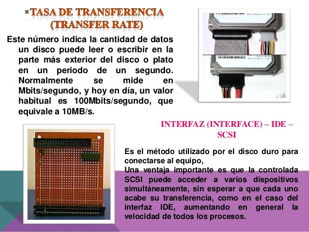 RECOMENDACIONES PARA ADQUIRIR UN DISCO DURO PARA UN USUARIO NORMAL 4,5GB mínimo 5400RPM 10ms de tiempo de acceso Buffer de...