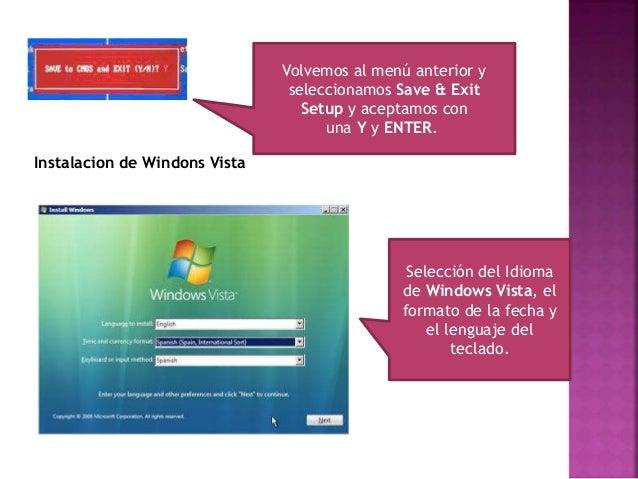 Iniciamos la Instalación de Windows Vista Insertamos el código de activacion de Windows Vista