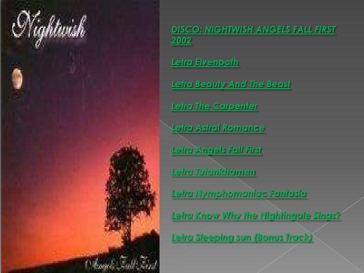 Ca  30 Resultater: Letra Sleeping Sun Nightwish