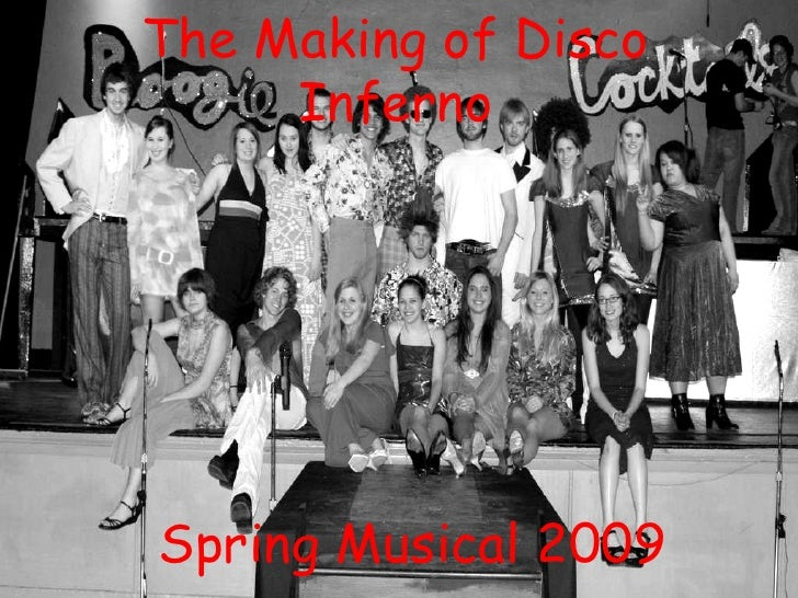 The Making of Disco Inferno Spring Musical 2009