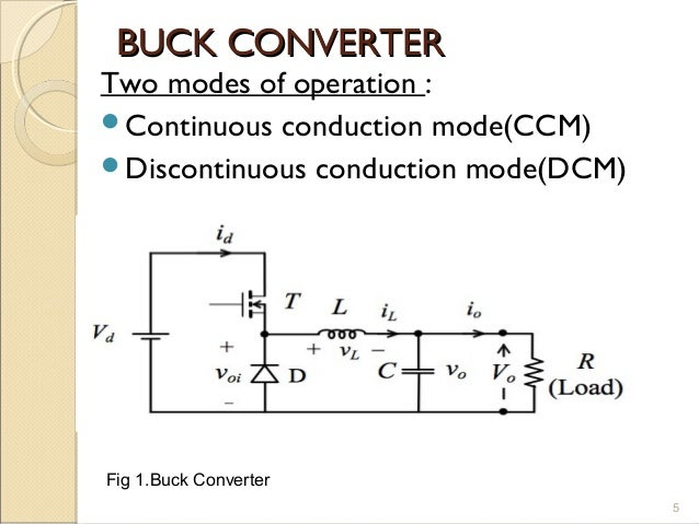 Buck Converter 41535853 on step down voltage circuit