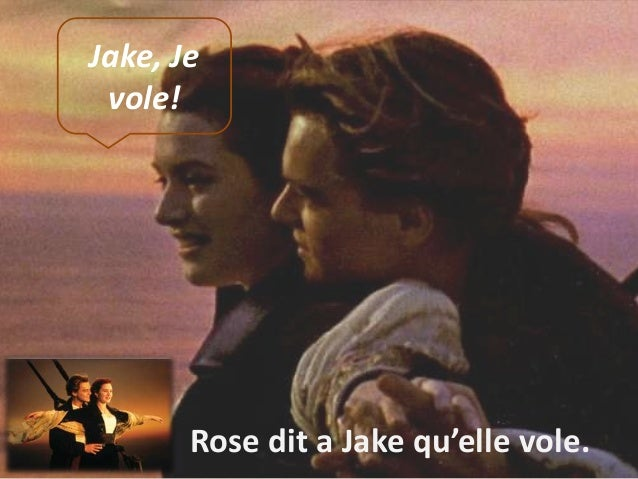 Jake, Je vole!  Rose dit a Jake qu'elle vole.