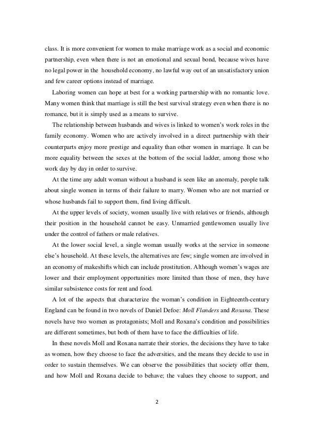 summary of moll flanders by daniel defoe