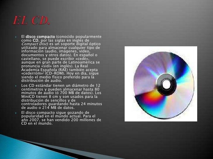 discos opticos cvop