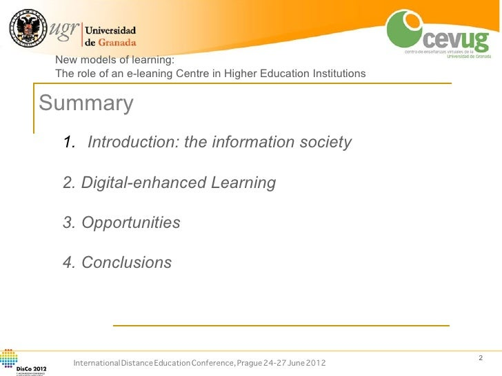 Process of Distance Education in India