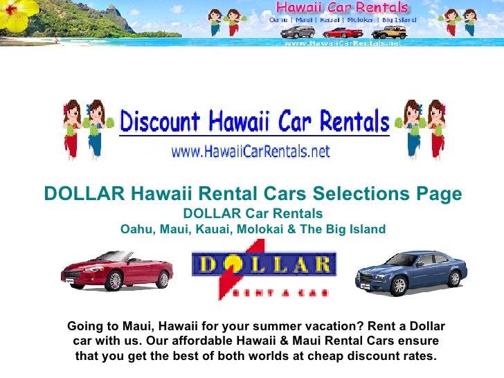 Enterprise Car Rentals In Maui Hawaii