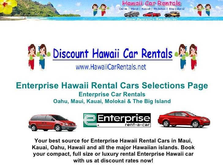 9e3f447de784ae Enterprise Hawaii Rental Cars ...