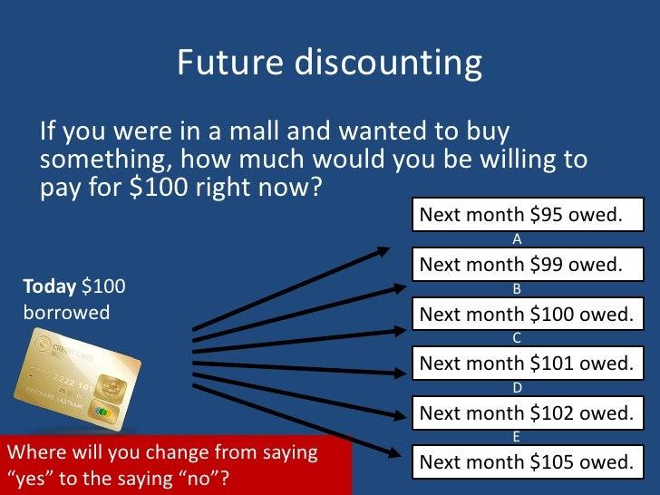 addiction future discounting. Black Bedroom Furniture Sets. Home Design Ideas